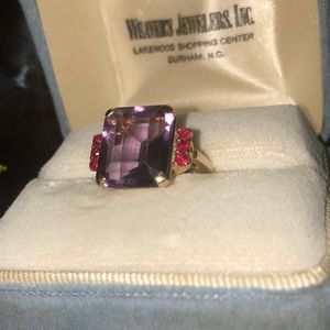Vintage Jewelry - Estate cocktail ring